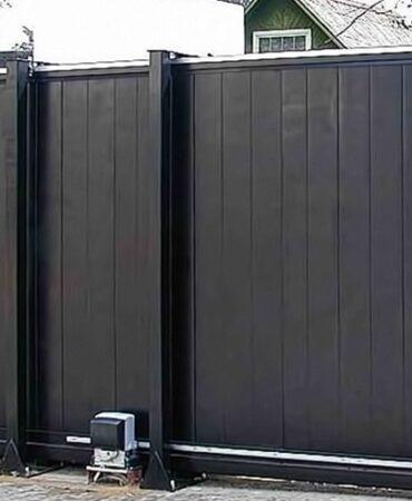 Промышленные откатные ворота